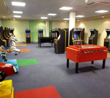 Queens Hotel & Casino Children Games Room
